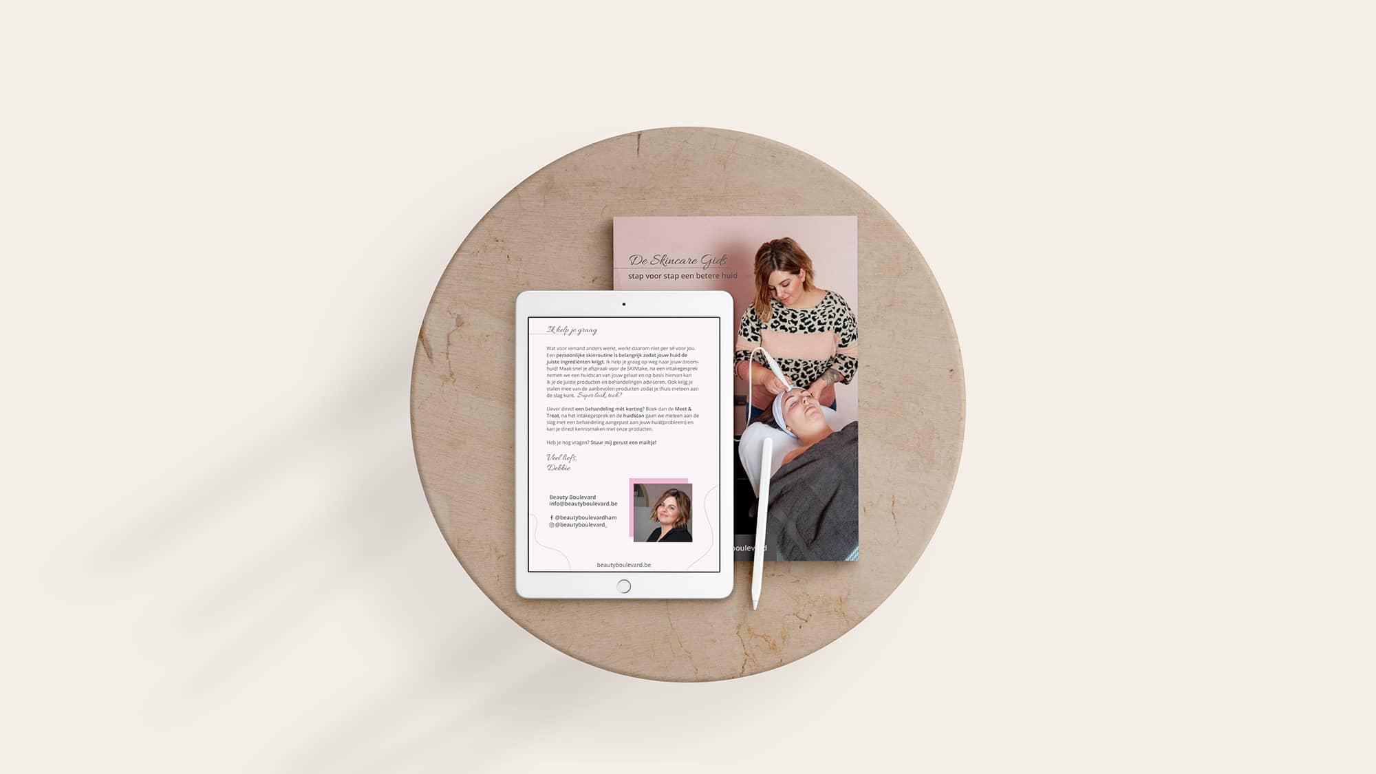 E-BOOK voor Beauty boulevard